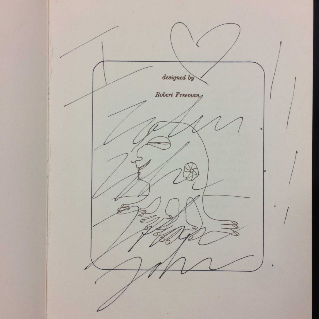 John Lennon Book Signed & Inscribed w/ Original Sketch! - 5