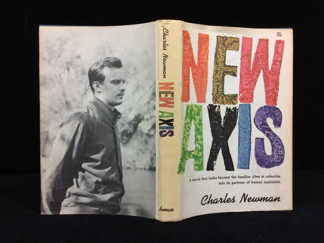 Signed and Inscribed Book by Charles Newman - 5