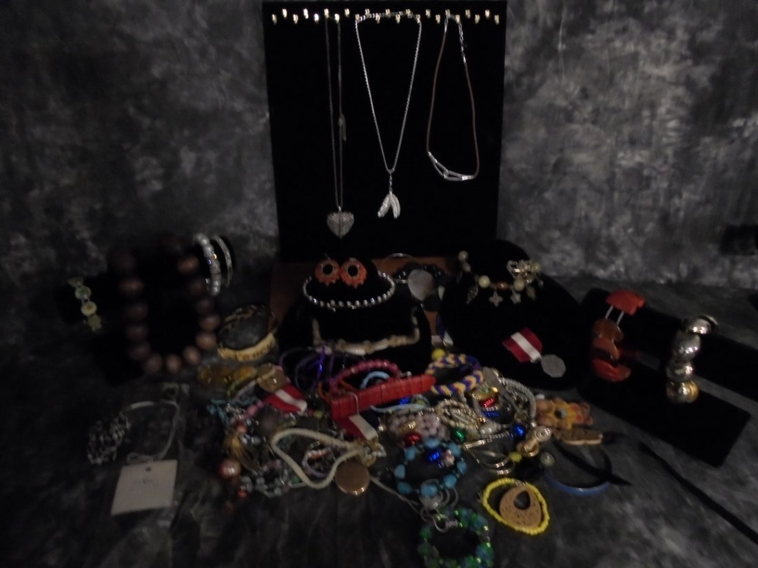 2LB ASSORTED 925 & GF JEWELRY LOT #6