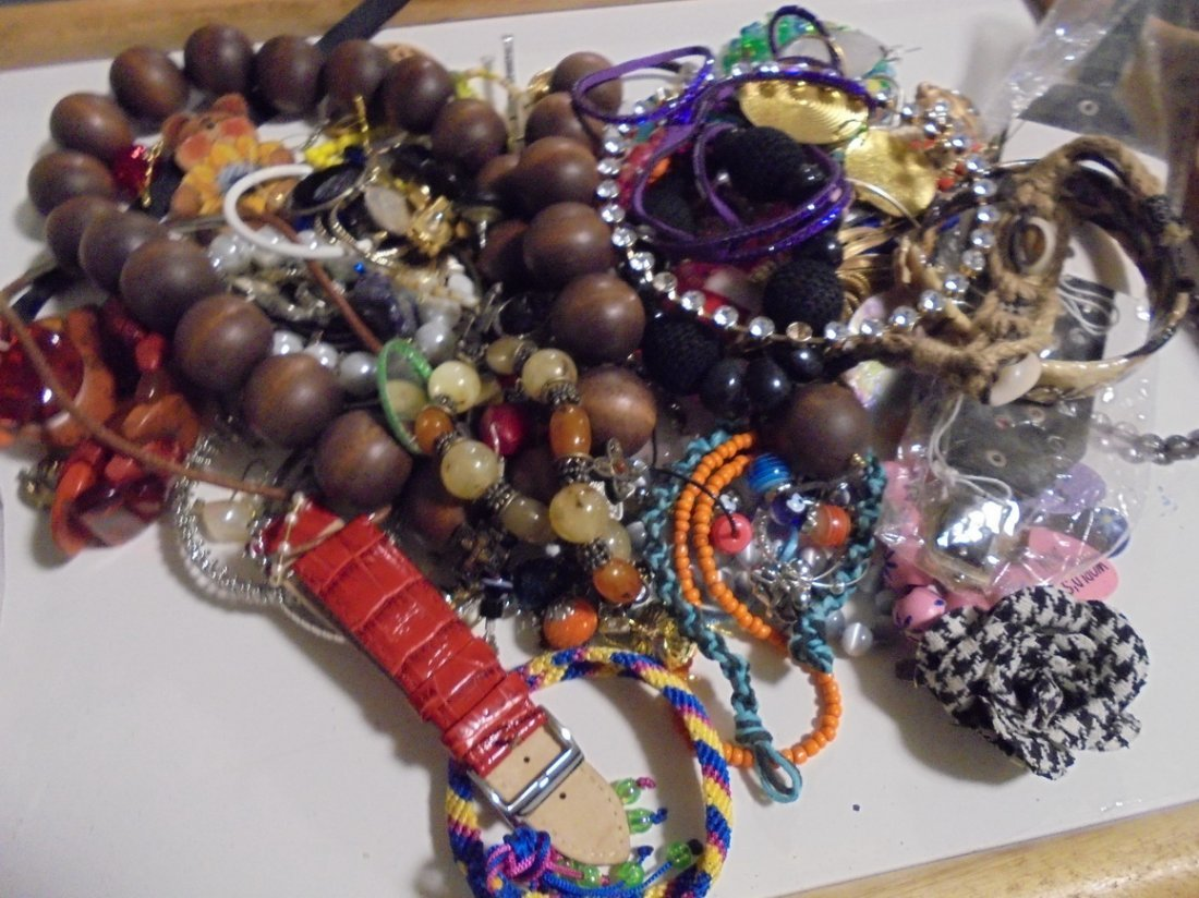 2LB ASSORTED 925 & GF JEWELRY LOT #6 - 4
