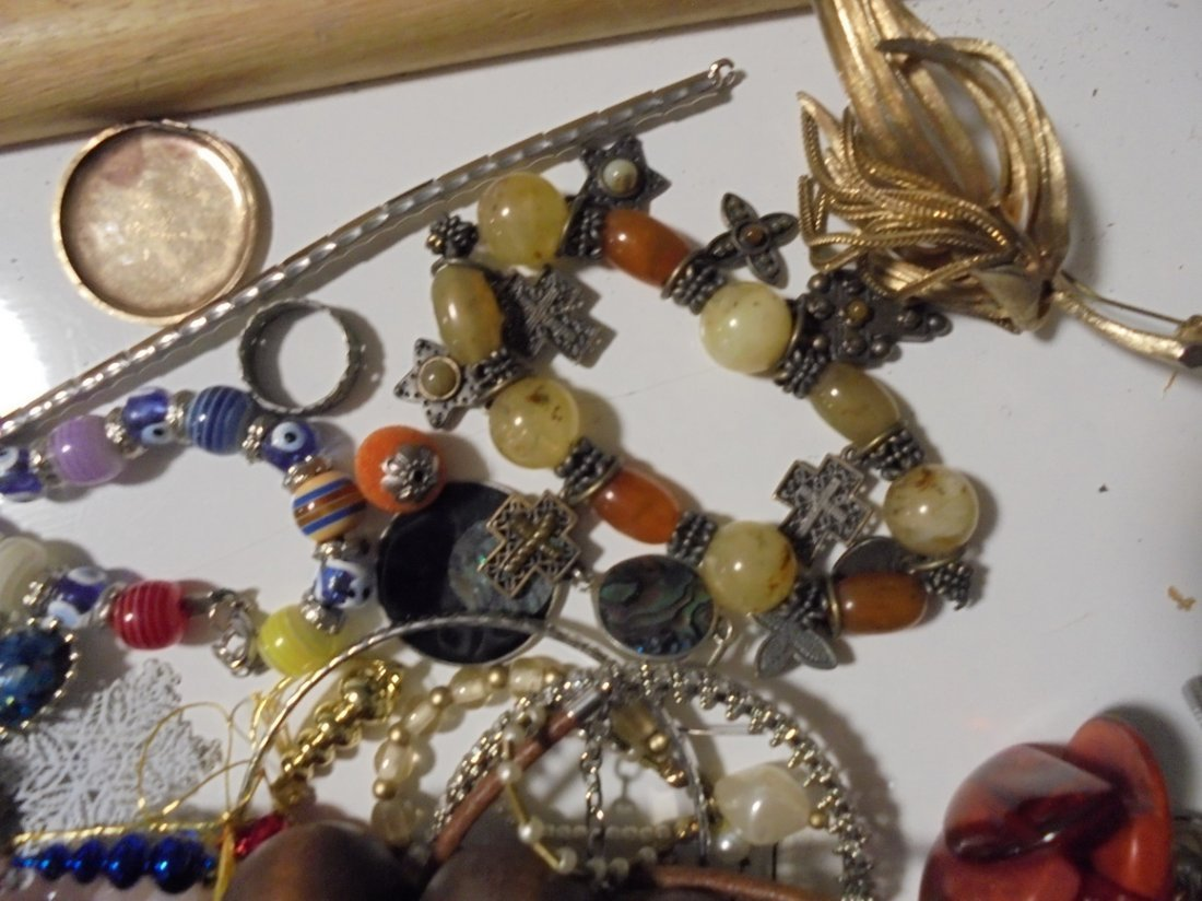 2LB ASSORTED 925 & GF JEWELRY LOT #6 - 5