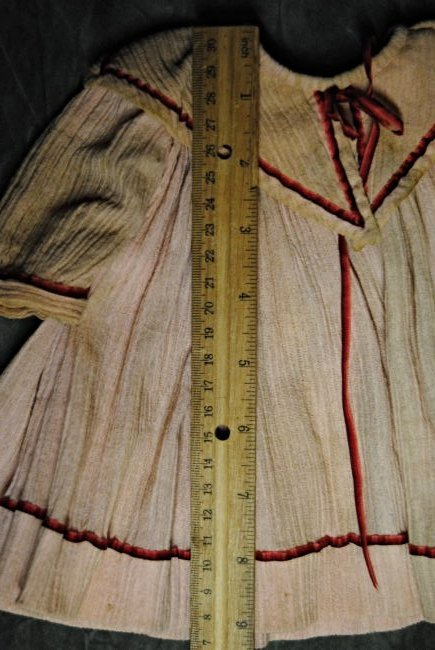 ANTIQUE DOLL DRESS - 4
