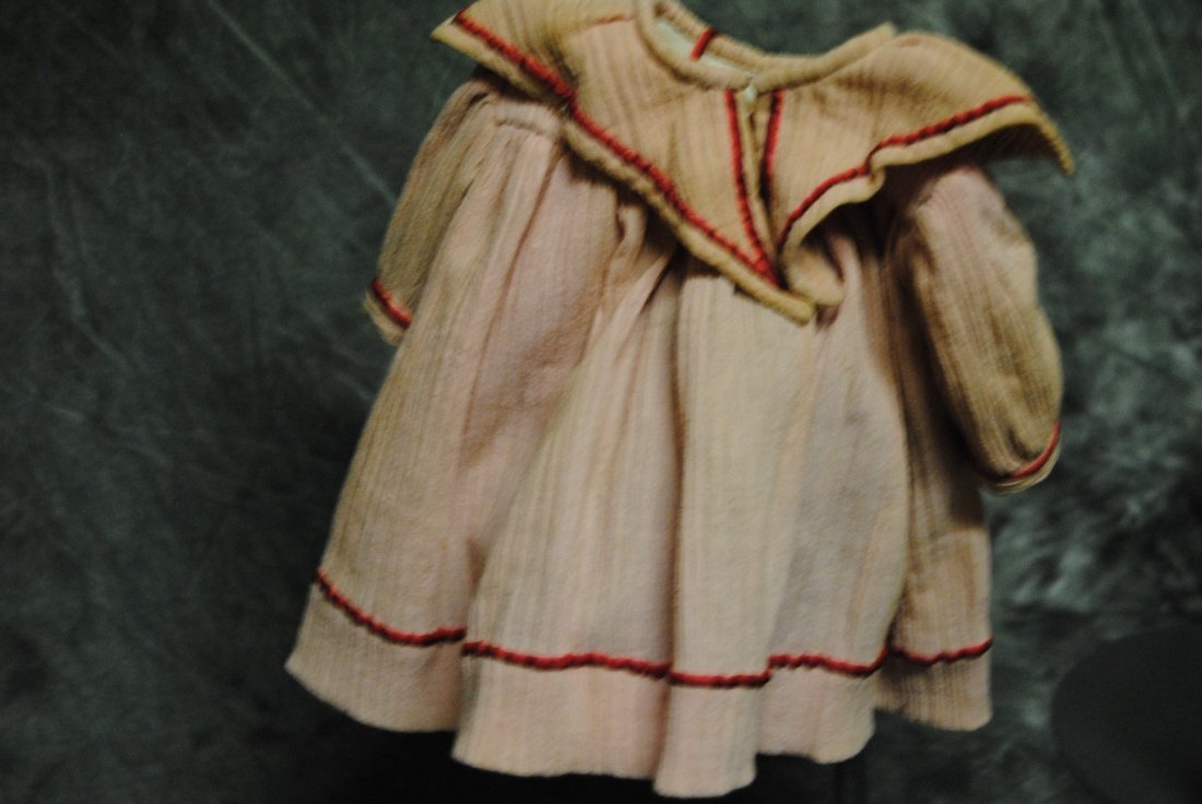 ANTIQUE DOLL DRESS - 6