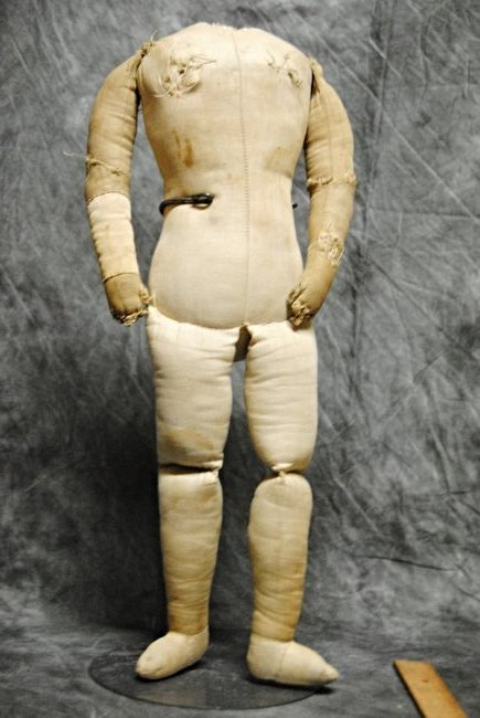 ANTIQUE CLOTH DOLL BODY