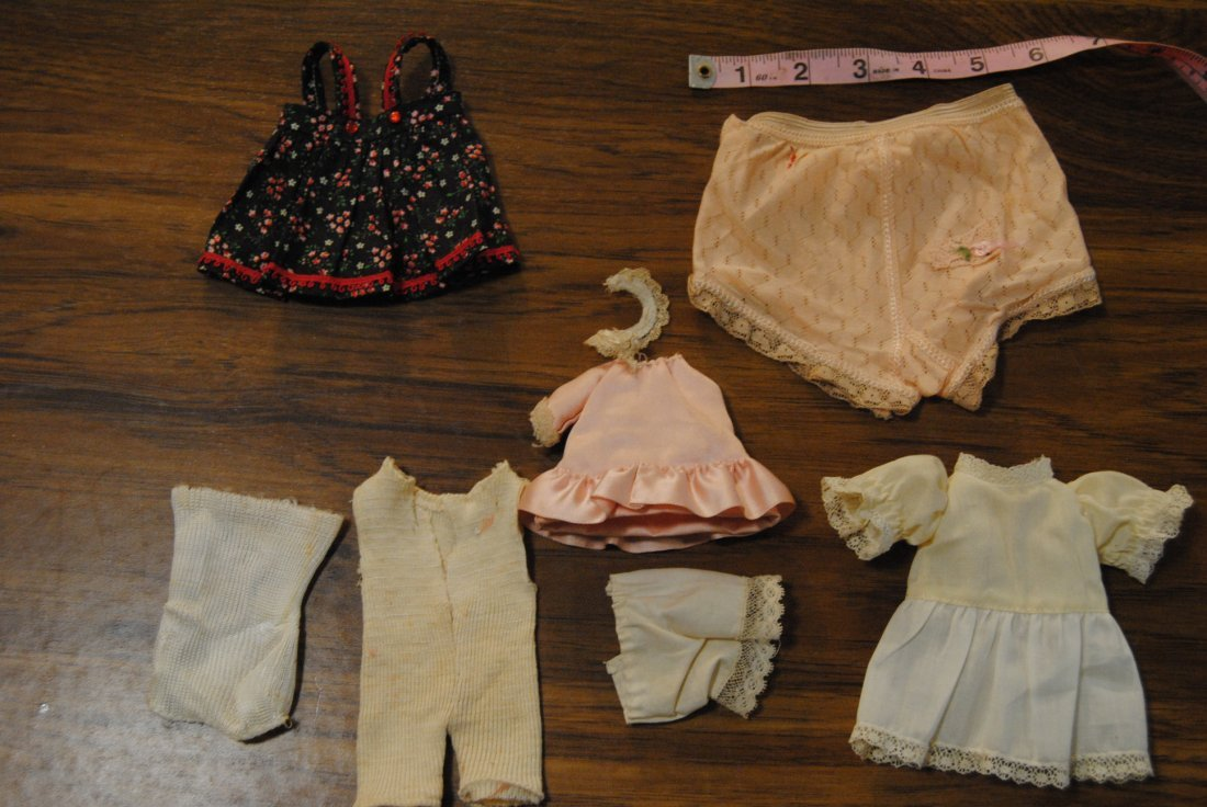 LOT OF ASSORTED DOLL ITEMS.. 7 PIECES.