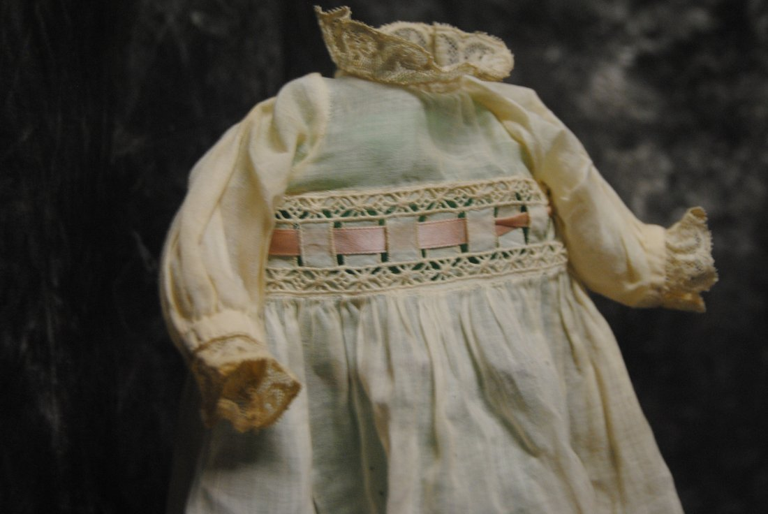 FABULOUS ANTIQUE GOWN FOR JUMEAU BEBE