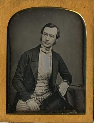 MAYALL, LONDON.  Portrait of John Romeyn Brodhead