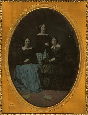 EDWARD TOMPKINS WHITNEY (1820 - 1893), AMBROTYPE, ca.