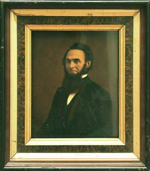 JOSIAH GURNEY, HALLOTYPE PORTRAIT OF A GENTLEMAN, Ca
