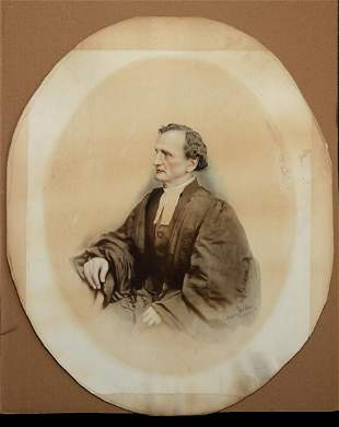 REVEREND CHARLES F.E. MINNEGERODE., by D. H. Anderson,