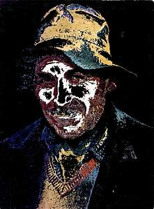 "DR. RAIMO GAREIS, ""2. A Lost Guy."" Color print"