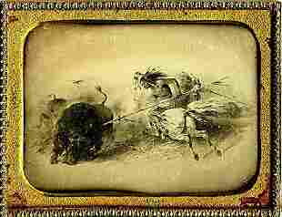 DAGUERREOTYPE ETCHING BY F O DARLEY 14 plate
