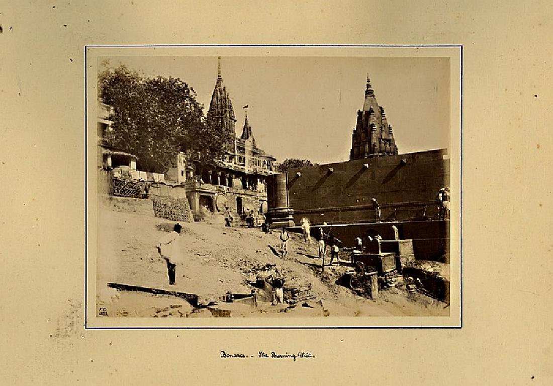 VIEWS OF INDIA, 1882. A large heavy photo album - 2