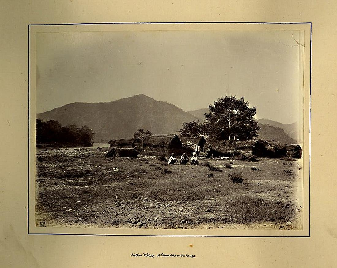 VIEWS OF INDIA, 1882. A large heavy photo album - 3