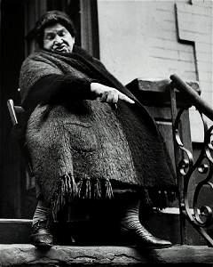 LISETTE MODEL, NY Lower East Side Woman. Two portraits,
