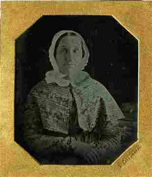 John Plumbe, Portrait of a sweet woman. Daguerrotype