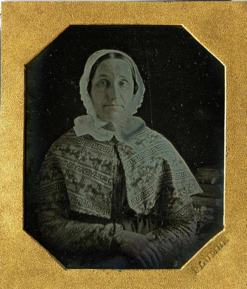 John Plumbe, Portrait of a sweet woman. Daguerrotype