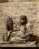 Dmitri Ermakov, An Armenian woman spinner.