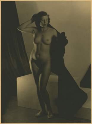 Josef Vetrovsky (Czech, 1887 -1944) Standing nude.