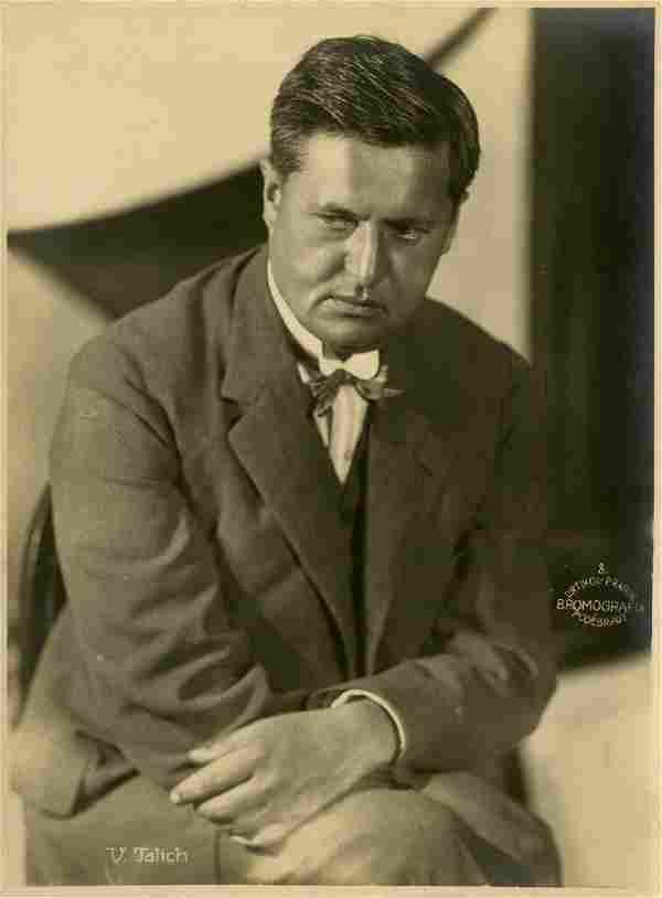 Frantisek Drtikol, Portrait of Václav Talich
