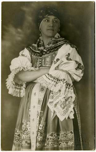 Frantisek Drtkol. Dancer or actress. Gelatin silver