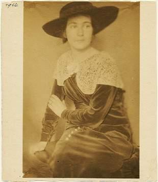 Frank Eugene, (1865 - 1936) Portrait of Thea Hermann,