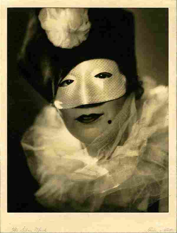 """Gordon Coster, """"The Silver Mask."""" 1929. Vintage 13 x 10"""