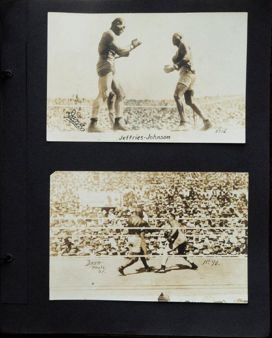 Jack Johnson-Jim Jeffries fight in Reno, July 4th 1910.