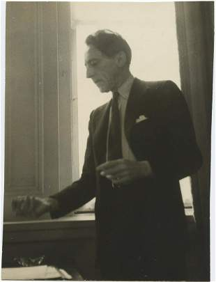 Ed Feingersh Jean Cocteau in New York