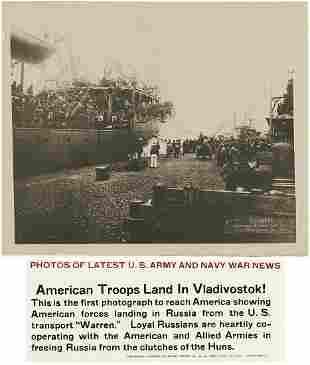 US Army in Siberia 4 Prints