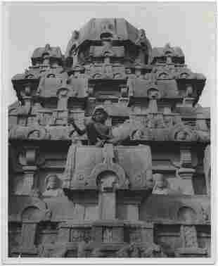 John Gutmann South Indian Village Temple