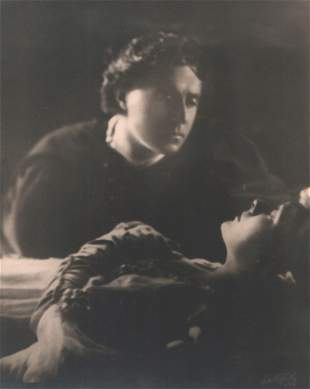 Arnold Genthe Sothern and Marlowe in Romeo and Juliet