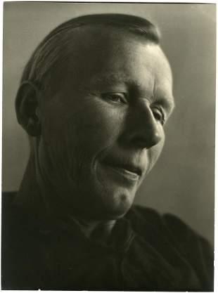 Johan Hagemeyer Portrait of Vasia Anikeyev 1938