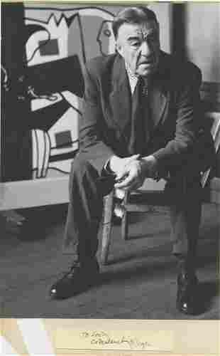 Sanford Roth Fernand Lger 18811955 Vintage
