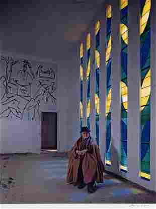 Dmitri Kessel 19021995 Matisse in the Cathedral