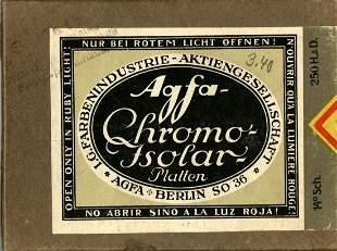 Japanese erotica in rare AGFA-Chromo-Isolar plate box