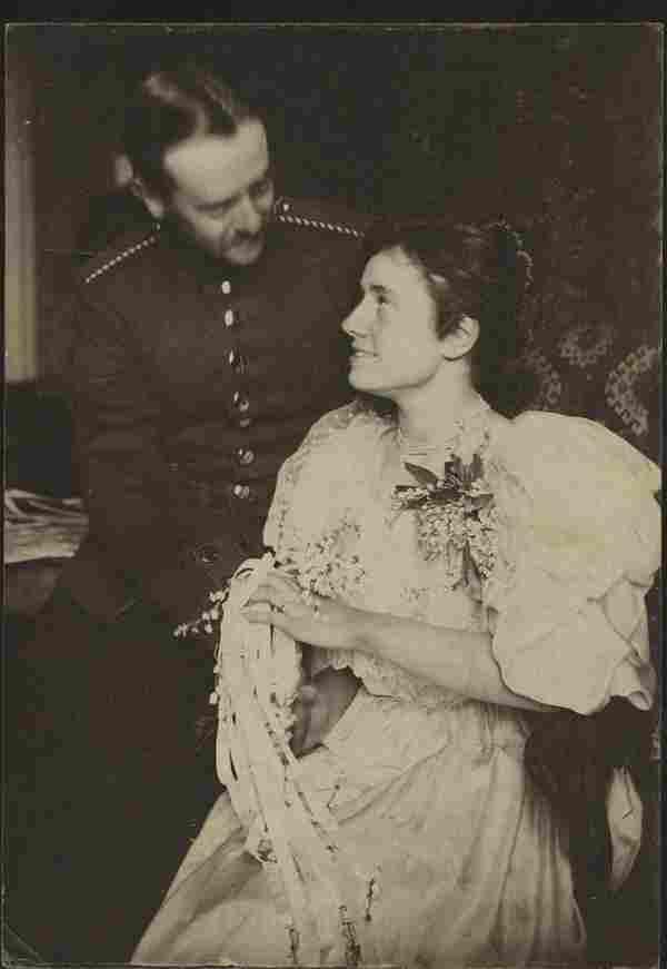 Gertrude Käsebier. Her daughter and future husband