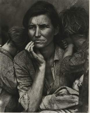 Dorothea Lange, Migrant Mother printed by Rothstein.