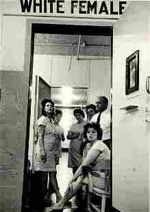 LEONARD FREED, WHITE FEMALE 1965.