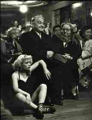 Robert Doisneau, Le petit balcon, 1953.