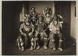 Otoe-Missouri Delegation, by John K. Hillers, Washingto