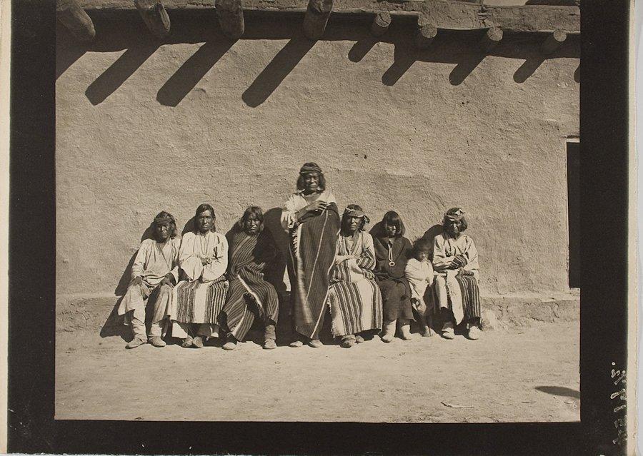 PUEBLO ELDERS, Possibly Zuni,  by John K. Hillers