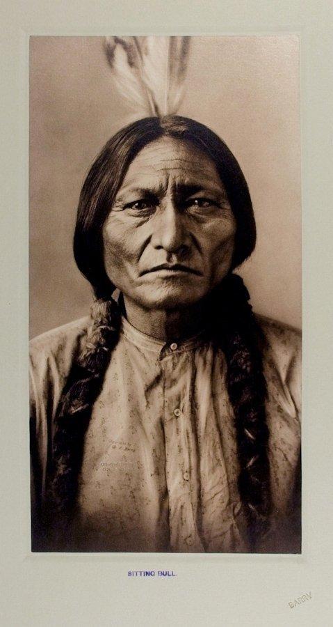 SITTING BULL (Tatanka Iyotanka), Hunkpapa Lakota, by D.