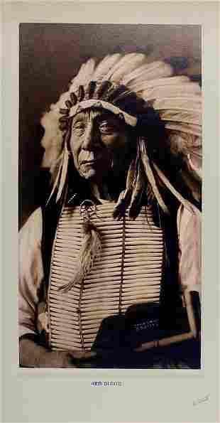 RED CLOUD (Mahpiya Luta), Oglala Lakota, by D. F. Barry