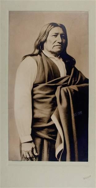 SPOTTED TAIL (Sinte Gleshka), Brule Lakota Head Chief,