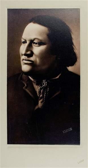 CHARGING BEAR (Mato Watakpe), called JOHN GRASS, Black