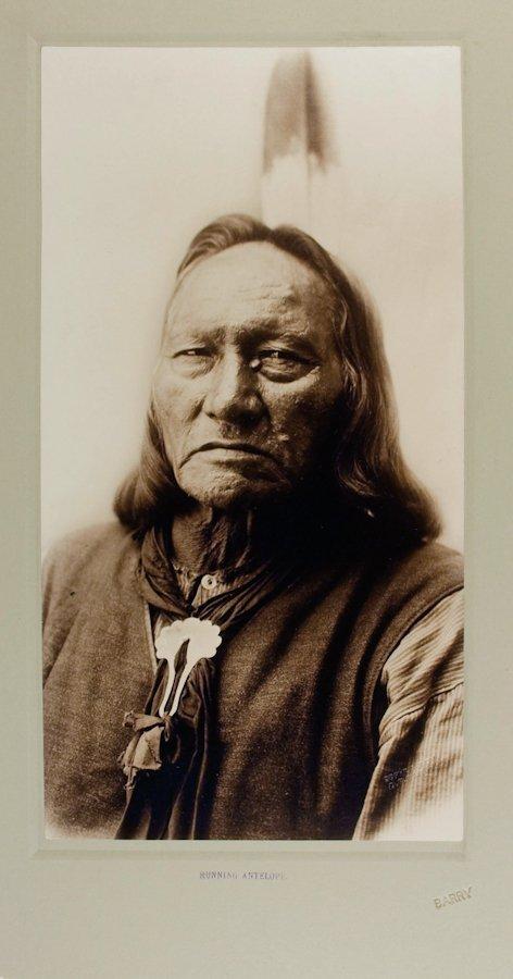 RUNNING ANTELOPE (Tatoka Inyanka), Hunkpapa Lakota,  by