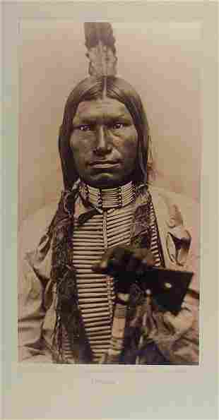 LOW DOG (Shunka Kuchela), Oglala Lakota, by D.F. Barry