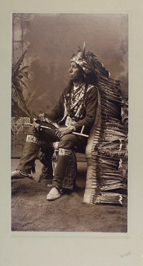 NEBAGAMAN, Ojibwa, by D.F. Barry at Bismarck, D.T., 188