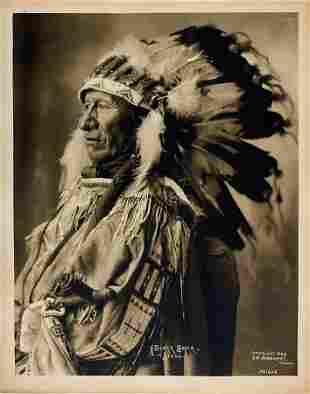 BLACK BEAR, Sr. . (Mato Sapa), Oglala Lakota, 1899.